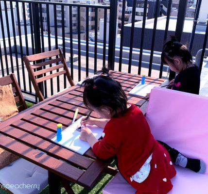#Stayhome中のルーフテラス(屋上)活用方法まとめ(with双子4歳)#お家で過ごそう