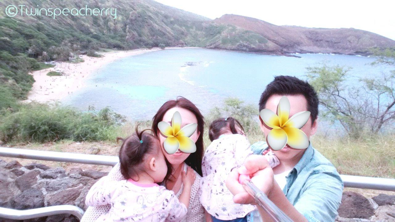 ハナウマ湾|幼児(双子2歳)とハワイ オアフ島 旅行