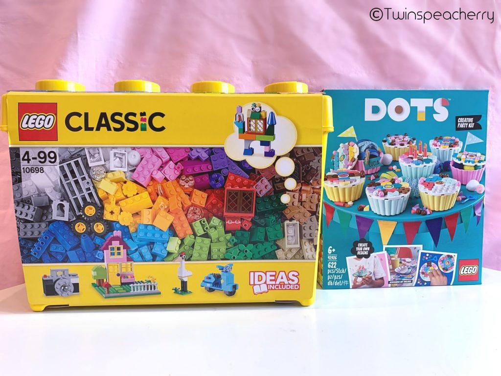 レゴ (LEGO) クラシック&ドッツ スウィートカップケーキ【5歳双子幼児巣ごもり自粛おすすめ知育おもちゃ】